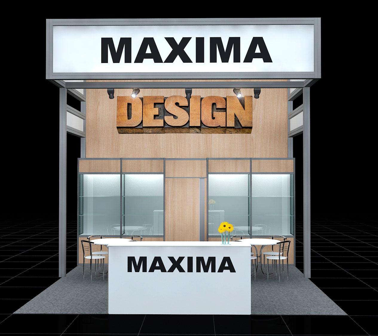 Exhibition Shell Scheme Manufacturers : Maxima modular stands u2013 starsystem